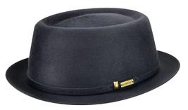 Mens Kangol Staple Pork Pie Hat - 100% Wool Atlantis Size M - $104.99