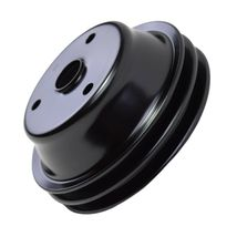 Crankshaft Pulley Double-Groove LWP Long Water Pump For Chevy SBC 262 350 400 image 9