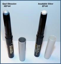 Jordana Eye Fixation Long Wearing Shadow EF-04 Opal Obsession Insatiable Silver - $8.25