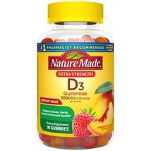 Nature Made Extra Strength Vitamin D3 125 Mcg (5000 Iu) Gummies, 90 Ct.. - $19.79
