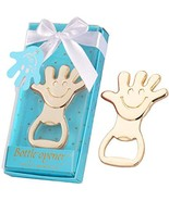 16 Pcs Baby Shower Favors for Girl Handprint Bottle Openers with Individ... - $28.07