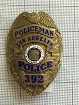 Los Angeles Police Obsolete Badge #392 - $650.00