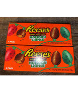 Reese's ~ Holiday Lights Chocolate Eggs 8-Count 1.2 oz Each Christmas ~ ... - $20.56
