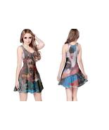 Captain Spaulding Clown  Womens Reversible Sleeveless Short Mini Dress - $17.99+