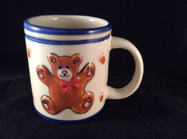 Ganz Teddy Bear Cup Mug Vintage Vtg Coffee Tea Hot Chocolate H56 - $9.40