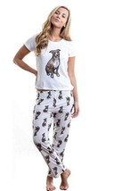 Dog Brown Pitbull pajama set with pants for women - $35.00