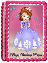 Sweet Candy Kisses-Sofia the First Edible Image Frosting Sheet/cake Topper - $12.06 CAD