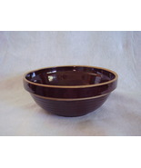 Vintage Western Stoneware Monmouth Ribbed Mixin... - $48.00