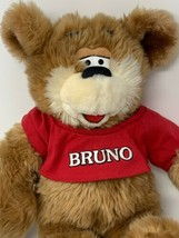 Kenny Rogers Teddy Bear Bruno 16in Soft Plush 1998 Commonwealth Stuffed ... - $34.65