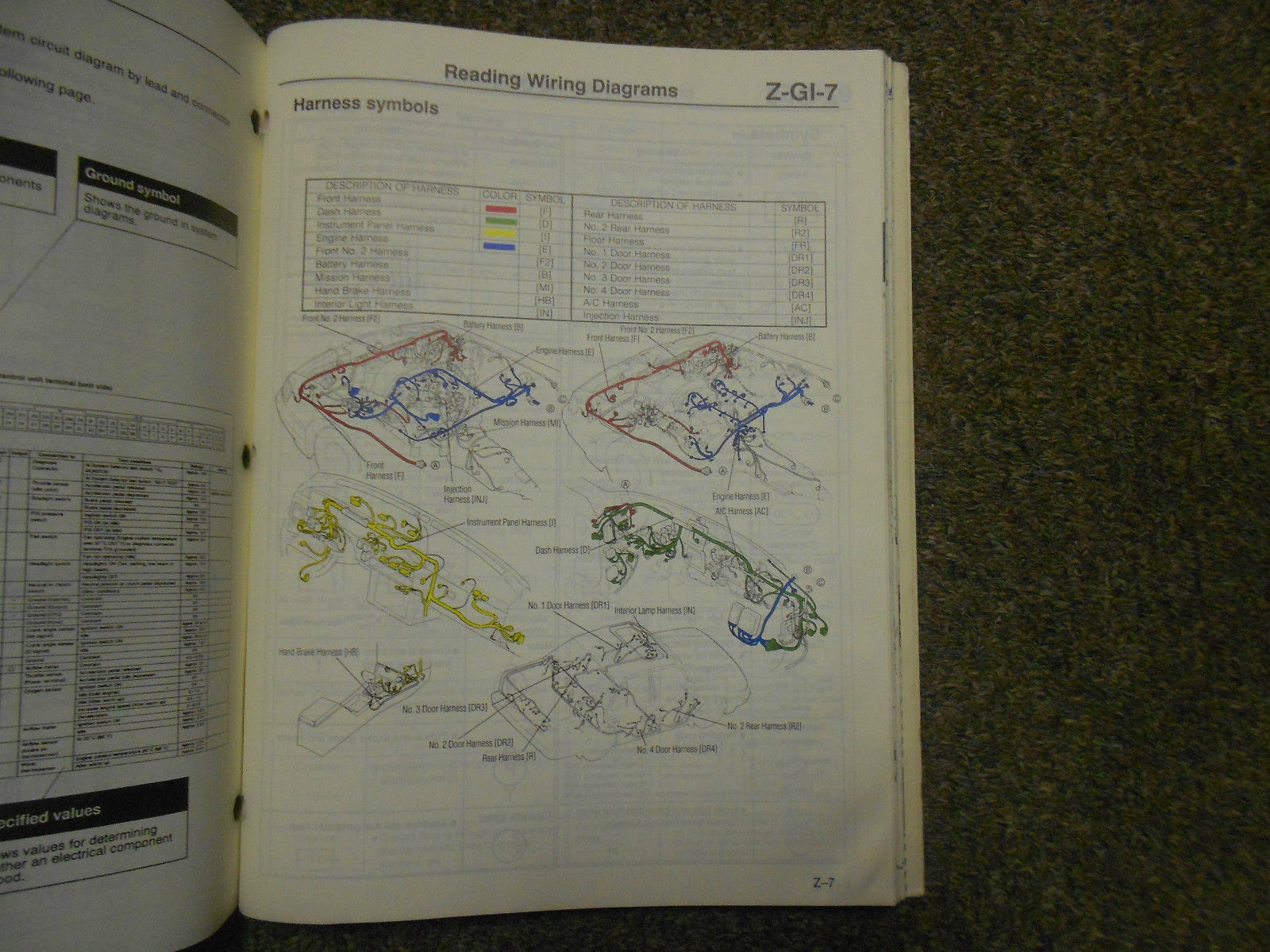 1991 Mazda 929 Electrical Wiring Diagram And 50 Similar Items