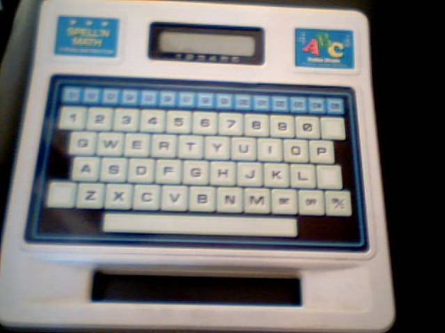 Tandy Corporation Radio Shack Spell N' Math Typing Instructor Electronic Educati