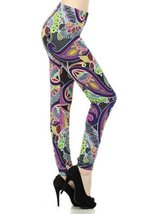 Lady's Ferns and Paisleys Abstract Art Fashion ... - $22.76