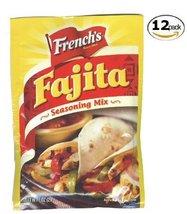 French's Fajita Seasoning Mix - 1oz - 12 Pack   - $29.99