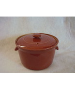 Lovatts Langley Ware Vintage Covered Glazed Bean Pot - $40.00