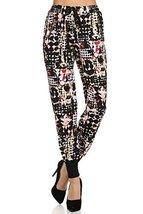 ICONOFLASH Women's Printed Joggers with Elastic Waistband & Pockets (Geometri... - $28.70