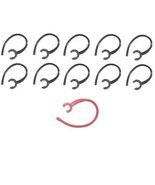 10 No-break Replacement Ear Hook Compatiblity: Samsung HM6000 HM1300 HM1... - $2.44