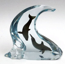 """Robert Wyland """"Dolphin Light"""" - Signed Lucite S... - $5,000.00"""