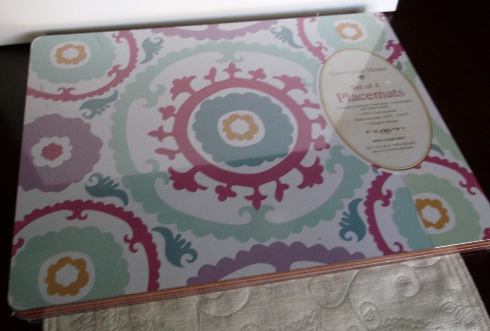 Sheffield Home Set Of 4 Cork Backed Placemats Other