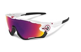 New OAKLEY OO9270-04 Jawbreaker Asia Fit Polished White / Prizm Road Sunglasses - $178.19
