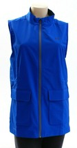 Under Armour Storm Blue Zip Front Windbreaker Golf Vest Women's NWT - $56.24