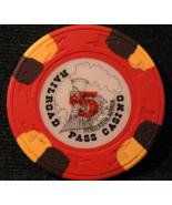 "1989 - $5.00 Casino Chip From: ""Railroad Pass Casino"" - (sku#3230) - $11.99"