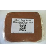 30 oz. Raw Native Oklahoma Terracotta Clay By Red Earth Seeds - $11.99