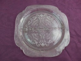 Vintage Madrid Pattern Indiana Clear Glass Two Sections Divided Plate 10... - $19.26