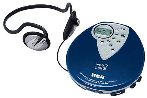 RCA RP2430 Personal CD Player (45-Second ESPX, FM Tuner, Xphones)