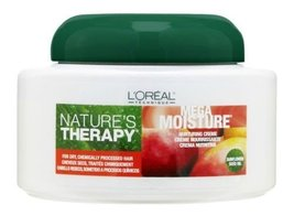 L Oreal Natures Therapy Mega Moisture Nurturing Creme 16 oz [Health and ... - $13.40
