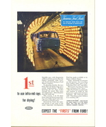 1945 Ford 1st infrared infra-red rays paint drying print ad - $10.00
