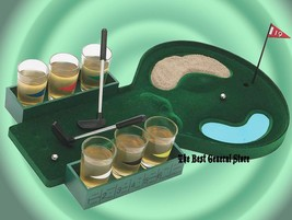 6 Shot Glass Adult Drinking Golf Game Party Bar Camping Bachelor Bachelo... - $19.99