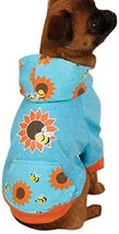 Zack & Zoey Flutter Bugs Dog Pullover, X-Small, Bumble Bee - $17.99