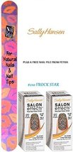 SALLY HANSEN Salon Effects Nail Polish Strips #210 FROCK STAR (PACK OF 2... - $14.99