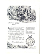 1922 Elgin Watches Harold Delay's painting print ad - $10.00