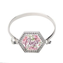 Oma Floral Hexagon Bracelet [Jewelry] - $14.20
