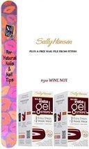 Sally Hansen Sally Hansen Insta Gel Strips #310 Wine Not (Pack Of 2) Led Lump... - $14.69