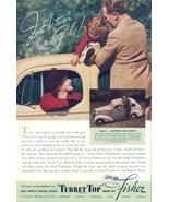 1936 Fisher Turret Top car body kids turtle print ad - $10.00