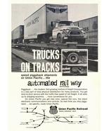 1943 Union Pacific Railroad Trucks on Tracks print ad - $10.00