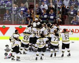 Boston Bruins 2011 Celebration 2 Vintage 8X10 Color Hockey Memorabilia P... - $6.99