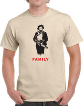 249 Family mens T-shirt texas scary horror movie chainsaw 70s halloween ... - $15.00+