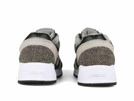 Saucony Men's Grid 8000 CL HT Gray Black Herringbone Running Shoes S70352-1 NIB image 3