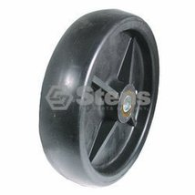 Stens Plastic Deck Wheel Replaces John Deere AM107561 - $31.52