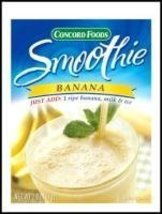 Concord Foods Banana Smoothie Mix 2 oz Pouch (C... - $24.99