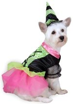 Zack & Zoey Witchy Business Costume for Dogs, Large, Green - $34.95
