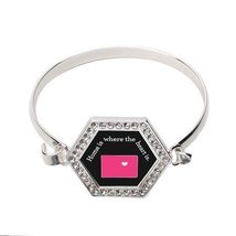 Colorado State Heart Hexagon Bracelet [Jewelry] - $14.20