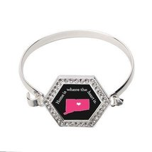 Connecticut State Heart Hexagon Bracelet [Jewelry] - $14.20
