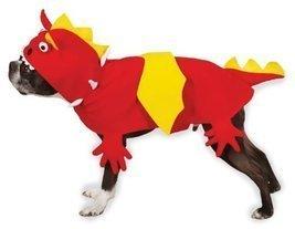 Zack & Zoey Dragon Dog Costume, X-Small, Red - $34.95