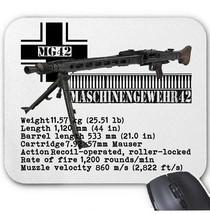 MG-42 MACHINE GUN GERMANY WWII - MOUSE MAT/PAD AMAZING DESIGN - $13.94
