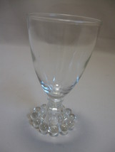 Boopie Juice Water Wine Glass Goblet  Anchor Hocking Glass Co 1950 Disco... - $7.95