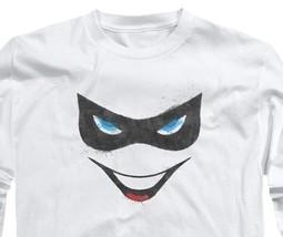 Harley Quinn T-shirt Joker Suicide Squad Batman superhero long sleeve tee BM2241 image 2